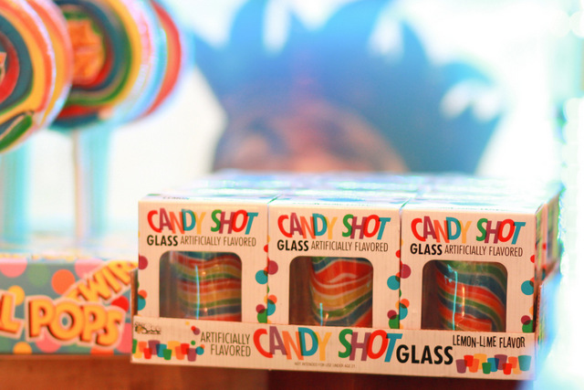 candy shot glass