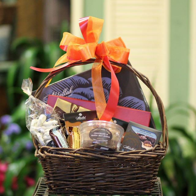 gift basket chocolate
