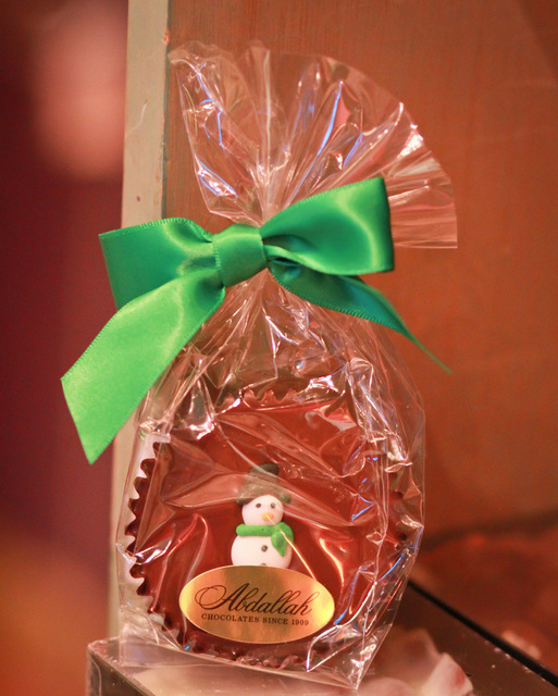 chocolate christmas candy gift