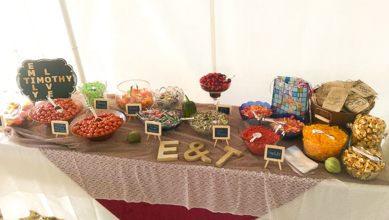 candy buffet catering near minneapolis