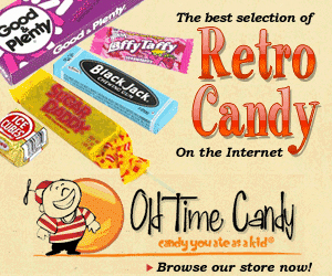 OldTimeCandy.com-Candy, Party Favors, and Toys from the 1950s, 60s, 70s, 80s or 90s