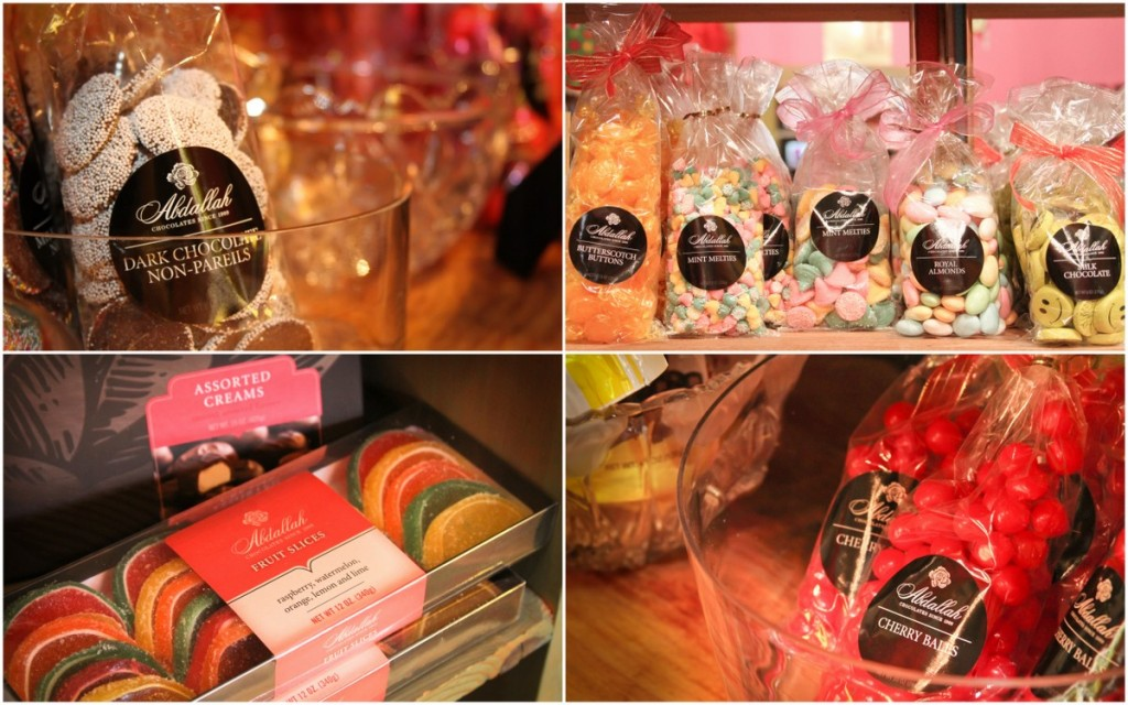 Just a few of the Abdallah Candy we currently offer.  Stock changes all the time!